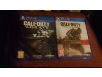 2x call of duty games / £15 each or both for £25 / FRESH CONDITION