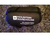 Kilimanjaro mountain warehouse sleeping bag