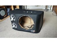 Vibe Black Air 12 Vented Active Subwoofer Box, 1600w Amp