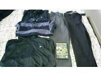 Golf clothing etc