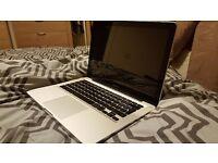 Mid 2012 Macbook Pro with Final Cut Pro 6GB Ram 500gb HDD