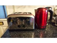 Logic kettle&toaster (red)