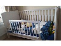 White oak nursery furniture 3 piece set from John Lewis
