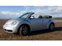 Beautiful VW Beetle Cabriolet Full Leather Interior