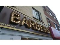 barbers shop in a busy area for sale