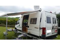 Motorhome/Camper hire 2004 Fiat Ducatio Trigano 3 birth for hire