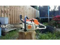 Stihl ms280 professional chainsaw