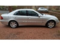 53 Plate Mercedes Benz E CLASS 2.2 Diesel Avantgarde 4 door Auto