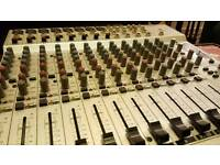 Behringer 16-track analogue mixer