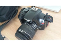 Rarely used Canon eos 1100d dslr