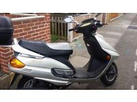 125CC SCOOTER FOR SALE, GOOD CONDITION, FULL MOT - BARKING