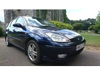 Ford Focus 1.8 i 16v Zetec 5dr 1 keeper from new Cambelt Done in 2013 Full Service History 10 stamps