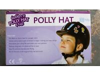 Children's horse riding hat never used