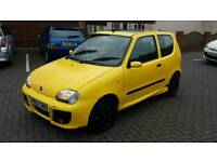 Fiat seicento 1.1 sporting Micheal Schumacher limited edition