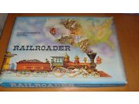 Waddington's Railroader - vintage game from 1963
