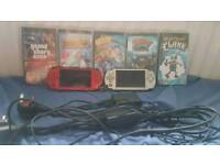 Psp bundle with 8 games