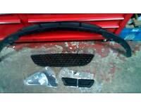 Corsa vxr front bumper trims