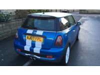 Mini cooper S facelift 2007 NOT SALVAGE OR DAMAGED HPI CLEAR quick sale BMW AUDI MERC SKODA FR S3