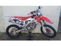 HONDA 250 CRF MOTO X BIKE