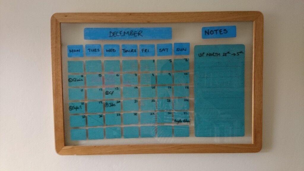 Handmade Re-usable Calendar