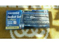 Kincrome 51pc sockets set Rrp £95