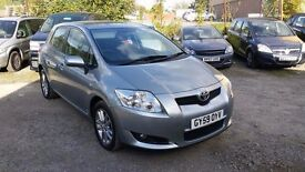 TOYOTA AURIS TR STOP/START 1.3 VVTI 5 dr Hatchback, MANUAL **FULL TOYOTA HISTORY**6 SPEED GEARBOX**