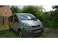 Vauxhall vivaro stealth camper/minibus