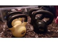 Lonsdale kettle bell weights
