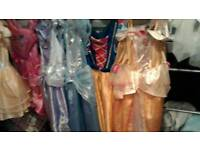 6 princess dresses in great used condition