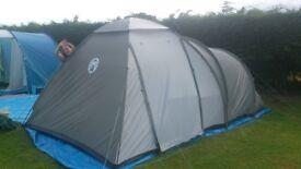 Coleman 5 person Tent - Colour Green