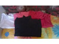 polo neck tops size 20-22