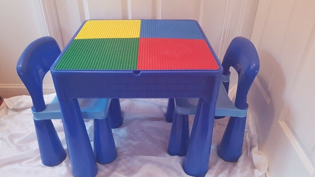 Amazing Next Kids Table Chairs With Lego Compatible Top In Renfrew Renfrewshire Gumtree Download Free Architecture Designs Sospemadebymaigaardcom