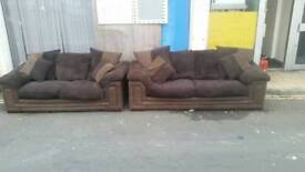 Dfs 3 & 2 seater sofa. Can deliver
