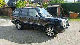2002 Range Rover P38 with low mileage