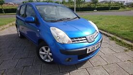2006 NISSAN NOTE 1386CC 1.4 PETROL LOW TAX LOW INSURANCE IDEAL FAMILY CAR MONEY SAVER SUPER RELIABLE