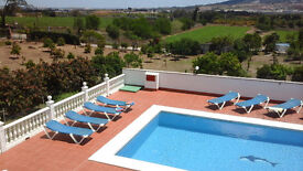 Special offer for September & October bookings for 5 bedroom villa with private pool near Malaga.