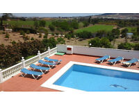 10% off for September & October bookings for 5 bedroom villa with pool and wifi near Malaga.