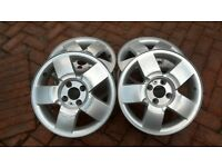 15 inch ALLOY WHEELS FOR RENAULT.