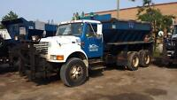 2000 International Plow Salter Truck