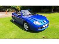 2004 MG TF 115. FULL MOT, LOW MILES.