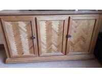 Solid Wood Sideboard - Buy as seen or I can upcycle for you (extra cost)