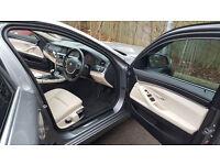 BMW 520 D ESTATE,beige dakota leather in very good condition,MOT Nov 2017