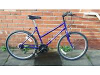 Ladies Townsend TX-350. 18 inch frame. 18 speed. Good condition ready to ride