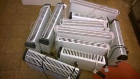Electric Heaters Various JOB LOT