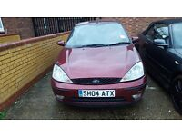 FORD FOCUS 2004, AUTOMATIC, 1 YEAR MOT, PERFECT ENGINE AND GEAR BOX, RECENTLY SERVICED