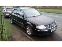 VW PASSAT HIGHLINE TDI 54 REG BLACK LEATHER 150K MILES GRNUINE NO OFFERS SWAPZ PART EX WELCOME