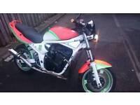 Suzuki bandit 600 streetfighter swap sale p/exchange