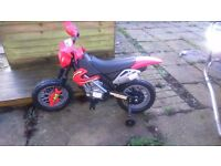 Motorised bike
