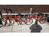 2 bmx bikes SOLD