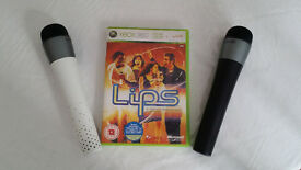 XBOX 360 Lips With 2 Microphones - Karaoke